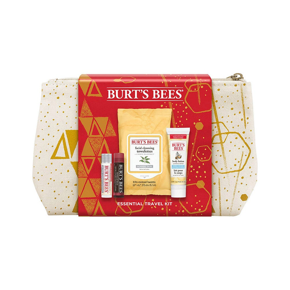Burt's Bees Essentials Travel Kit Holiday Gift Set
