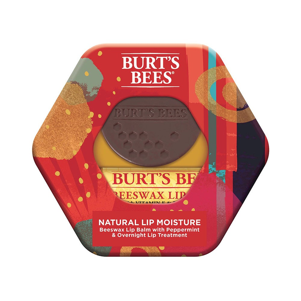 Burt's Bees Natural Lip Moisture Holiday Gift Set